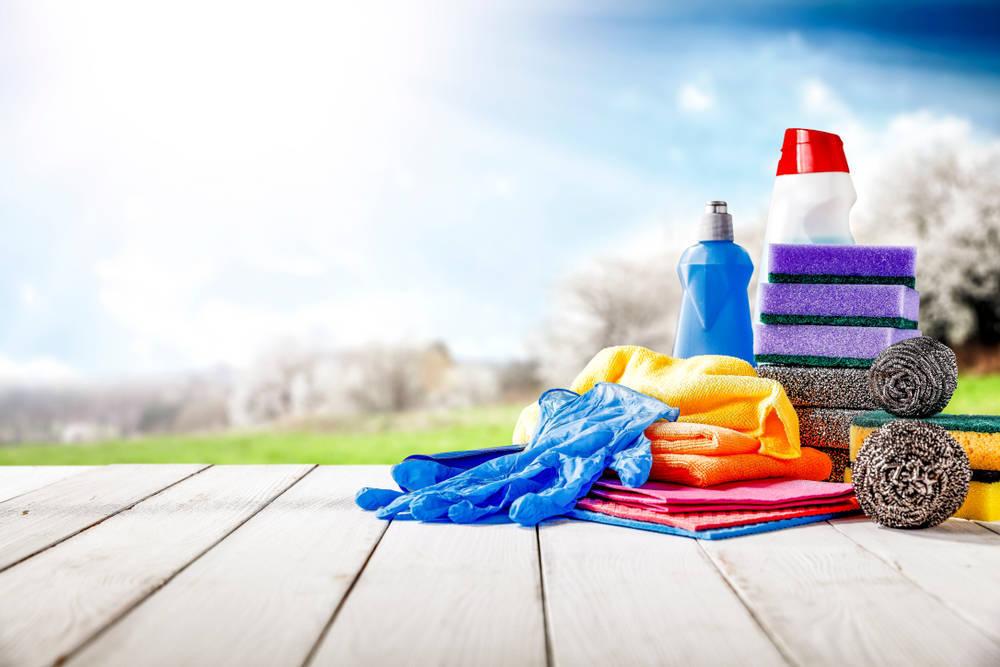 Productos de limpieza carentes de agentes químicos