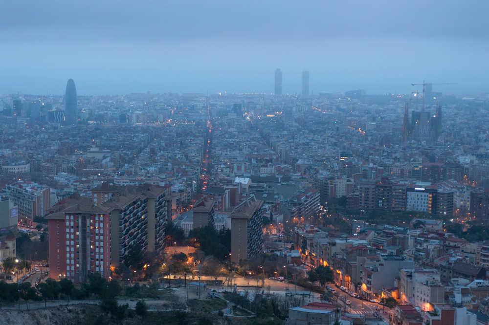 La contaminación en Barcelona